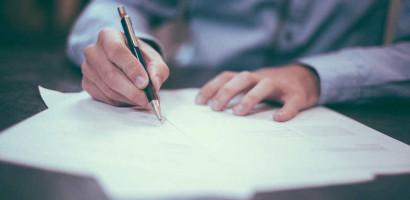 podpisywanie umowy pożyczki